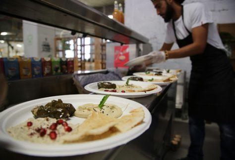 Cuisine libanaise végétarienne Paris