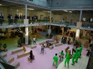 Concert fanfare Paris intérieur