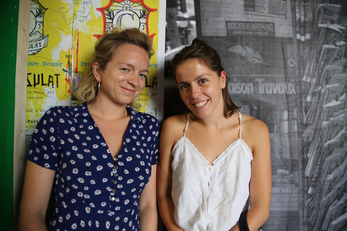 La Maison Nomade avec Alison et Clélia
