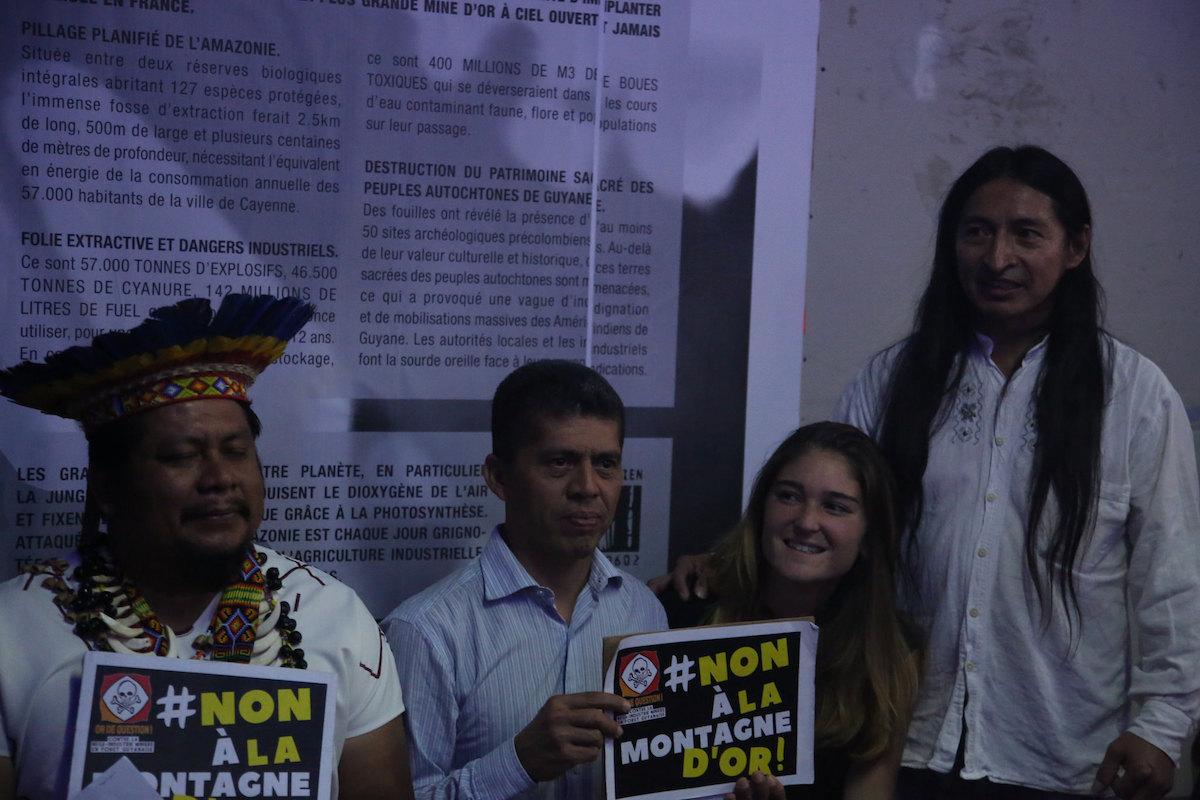 Conférence : Défendre l'Amazonie face aux multinationales